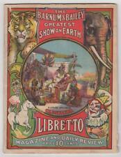 """""""THE GREATEST SHOW ON EARTH."""" Barnum & Bailey Greatest Show on Earth. IL, 1912."""