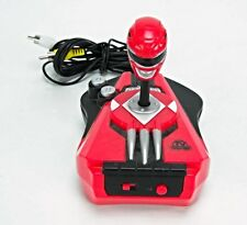 POWER RANGERS Plug-n-Play lot TV Video Game Joystick Jakks Pacific Red G2