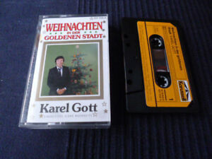 KASSETTE Karel Gott Weihnachten Der Goldenen Stadt Christmas Advent Karussell MC