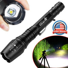 Tactical 350000LM Zoomable Focus LED Flashlight High Power Torch Lamp USA