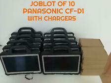 Joblot of 10 PANASONIC CF-D1 TAB TOUGHBOOK INTEL 847 2GB 250GB ENGINEERS' XENTRY