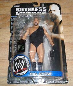 2008 WWE Jakks Big Show Paul Wight Ruthless Aggression 36 Wrestling Figure AEW