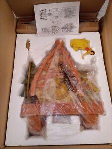 RARE Limited Edition Walt Disney Snow White wooden mechanical Cuckoo Clock NIB