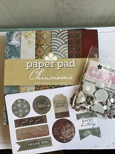 Craftwork Cards Chinoiserie Paper Pad Sentiments And Candi