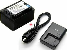 BP-718 Battery & Charger for Canon LEGRIA HF M52 HF M56 HF M60 HF M506 HF R506