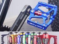 1 pair MTB Mountain Road Bike 3 Bearings Pedals flat Platform Bicycle Pedal 318g