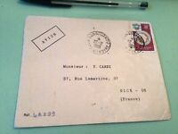 Ivory Coast   to France Airmail stamps Cover Ref 51442