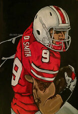 Devon Smith Ohio State Painting signed