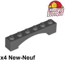 LEGO Part 6108 brun rougeâtre Brick Arch 1 x 12 x 3