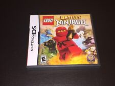 Lego Battles Ninjago Nintendo DS Complete CIB Cleaned & Tested