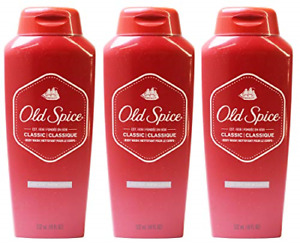 Old Spice Classic Scent Men's Body Wash 18 Fl Oz Pack of 3