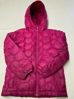 APPAMAN INFANT GIRLS/' HOODED DOWN SHIMMER PUFFER JACKET SIZE 3-6 MONTHS NWT $110