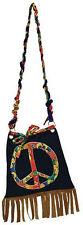 Peace Hippie Handtasche NEU - Zubehör Accessoire Karneval Fasching