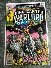 Marvel Comics Group 15 John Carter Warlord Of Mars - HGComic Book  B13-13