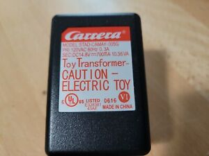 Carrera GO 1/43 Slot Car Power Pack Supply Toy Transformer UL STAD-CAMAY-005G