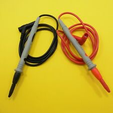 Ultra Fine Universal Probe Test Leads Cable Multimeter Meter 1000V 20A
