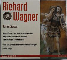 COFFRET 3 CD RICHARD WAGNER - TANNHAUSER neuf sous blister