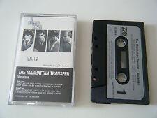 THE MANHATTAN TRANSFER VOCALESE CASSETTE TAPE 1985 PAPER LABEL ATLANTIC