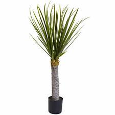 Planta artificial de yuca árbol W/699 Lan casi natural 3' Decoración Hogar Oficina