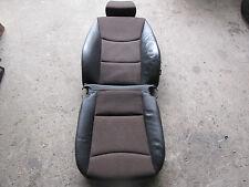 BMW 3er E90 E91 LCI Sitzbezug Teilleder Impuls braun vorne links 7212136 7212163