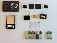 HIGHLY RATED: Precious Metals Test Kit: DKS Purity Test Gold Acid Set, 1000gr