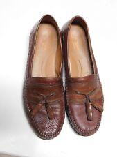 Brass Boots Walking Glove Sheepskin Leather Tassel Loafers 10.5M