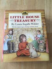 The Little House Treasury by Laura Ingalls Wilder (2004, Hardcover) Good +