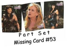 Xena Season 3 (Three) - 72 Card Basic/Base Part Set - Missing Card #53