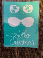 NEW ~ Hello Summer Chalk Couture transfer adhesive stencil