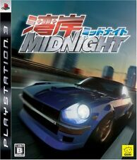 Used PS3 Wangan Midnight Racing Playstation3 JAPAN OFFICIAL IMPORT FREE SHIPPING
