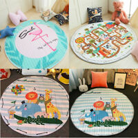 Soft Cotton Baby Kids Game Gym Activity Play Mat Crawling Blanket Floor   New A