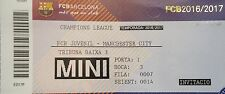 Ticket UEFA YL 2016/17 FC Barcelona-Manchester City