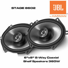 "JBL STAGE 8602 - 6""x8"" 2-Way Coaxial Car Speakers 360W Total Power New"