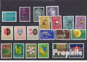 Liechtenstein 1971 neuf complet volume dans propres conservation