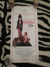Elvira Mistress of the Dark Poster-Cassandra Peterson