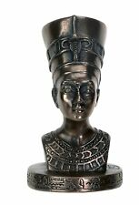 """Ancient Egypt NEFERTITI Resin Bust Statue, 2"""" Tall, High Detail, by YTC Summit"""