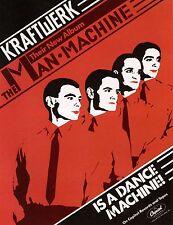 "Kraftwerk Man Machine 16"" x 12"" Photo Repro Promo Poster"