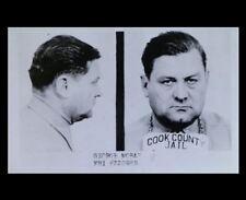 Bugs Moran Mug Shot PHOTO Gangster Chicago Crime Boss, Al Capone Foe,PROHIBITION