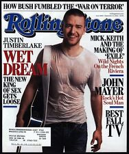 2006 ROLLING STONE Magazine *COVER ONLY* Featuring JUSTIN TIMBERLAKE