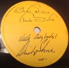 "Dinah Shore & Jack Smith 78 RPM 12"" PROMO - OXYDOL - PROCTOR & GAMBLER"