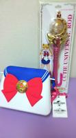USJ Sailor Moon Cutie rod & popcorn bucket Universal Studios figure from JAPAN
