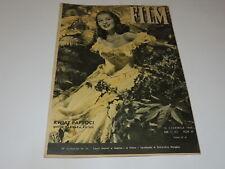 Film 11/1948 polish magazine Barbara Bates , Laurence Olivier, Louis Jouvet