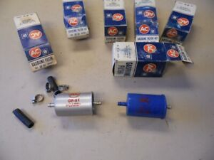 NOS GM AC GF61 FUEL FILTERS LOT OF 6    n
