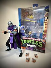 NECA TEENAGE MUTANT NINJA TURTLES STERN PINBALL CRATE SHREDDER ACTION FIGURE