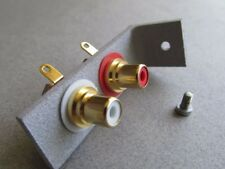 Pats Audio Phono Cable Connection Bracket Upgrade for Dual Turntables