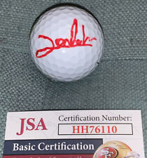 2020 JON RAHM TOP RANKED MASTERS TITLEIST LOGO GOLF BALL AUTOGRAPHED JSA HH76110