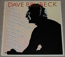 DAVE BRUBECK  TAKE FIVE  UK COMPILATION 33rpm LP  RED CBS LABEL   NEAR MINT