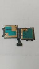 NEW SIM & SD Card Holder Reader Slot Flex Cable For Samsung Galaxy Avant G386T