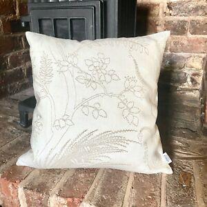 813. Handmade GARDEN PRINT 100% LINEN Cushion Cover.Various sizes
