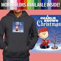 Charlie Brown Christmas Tree Peanuts Classic Pullover Sweatshirt Hoodie Sweater